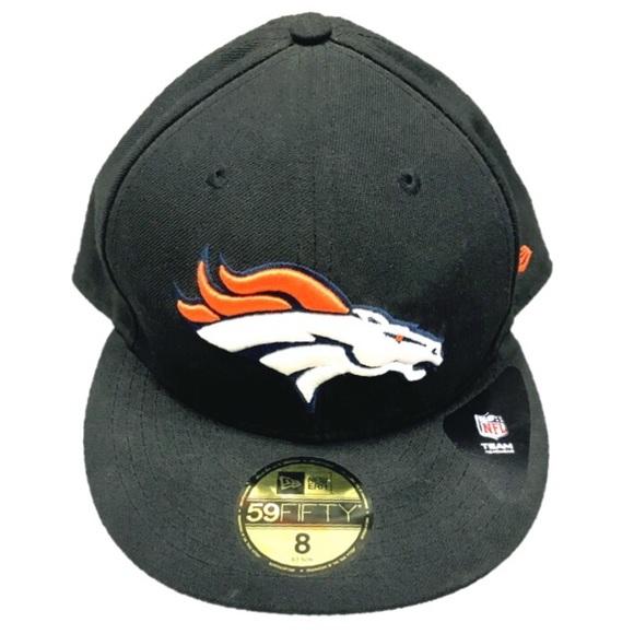 945f913e5 NWT. NFL Denver Broncos cap baseball hat. Black NWT